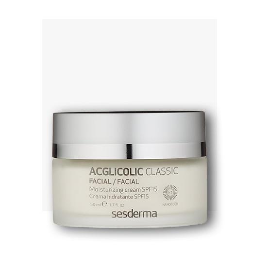 Acglicolic classic, crema hidratante SPF15